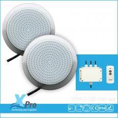 Iluminación de piscina de superficie LED 324 12V AC 25 W set -