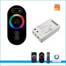 RGBW TUYA 2.4G Wireless Mesh Sync Control 4CH Full Touch Remote Controller RGBW Wifi -