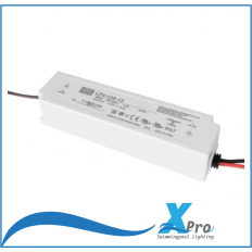 MEAN WELL LED-transformator 12 V/DC 100 W 0 - 5 A -