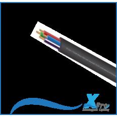 El cable de 5 núcleos se adapta perfectamente a las lámparas LED RGBW -