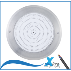 Ultradunne 230 x 9mm LED Zwembadverlichting 316SS -